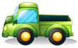 A green truck