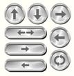 Metallic Arrow Buttons