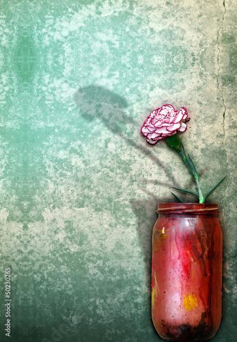 Carnation. Still life
