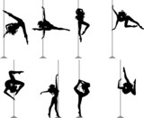 Fototapety Pole Dance