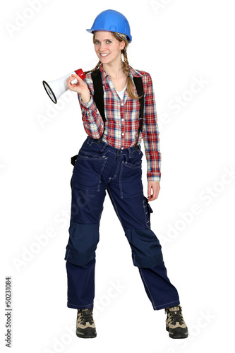 Female laborer