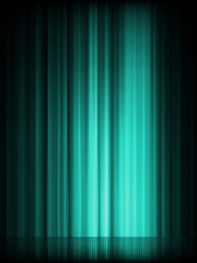 Blue aurora borealis background. EPS 8