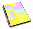notepad in note book