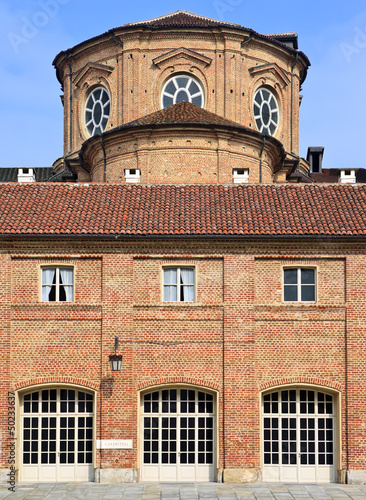 Cortile delle Carrozze of Reggia di Venaria Reale, Torino