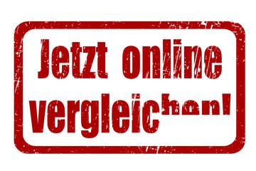 Jetzt online vergelichen! vektor