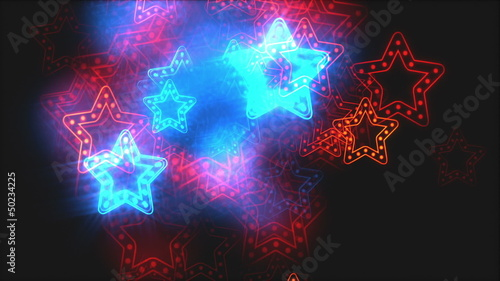 Disco neon background