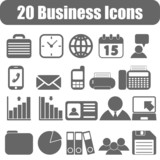 20 Business icons