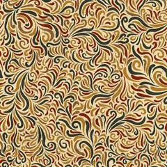 Ornamental seamless pattern. Vector, EPS10