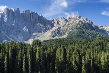 Mountain Latemar, Dolomiti