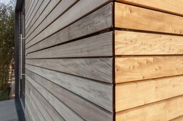 Holzverkleidung © Matthias Buehner