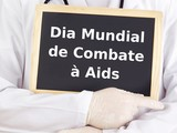 Blackboard : World AIDS Day : Portuguese language