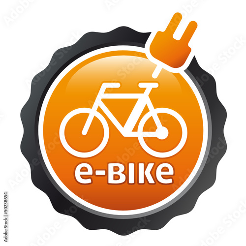 Orange Button e-bike