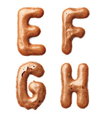 cookie alphabet letter