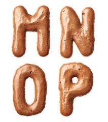 cookie alphabet letter