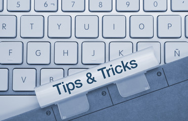 Tips & tricks keyboard and folder