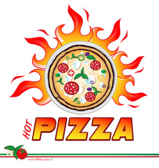 hot pizza flames project