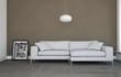 modernes Sofa weiss