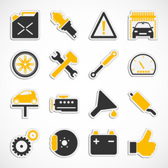 Auto - Werkstatt - Sticker (IV)