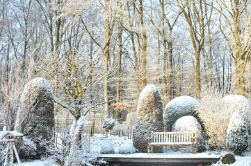 Winter im Garten