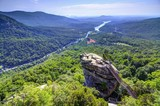 Fototapety Chimney Rock in North Carolina
