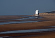 Lighthouse on Burnham Beach, somerset, England