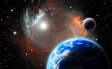 Alternative planetary system