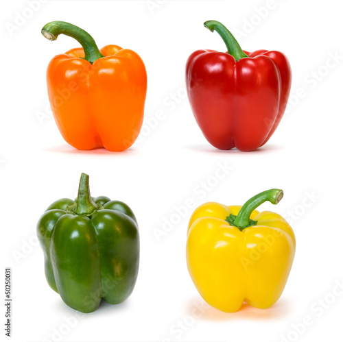 set of bell peppers