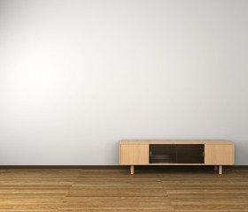 テレビ台のある部屋