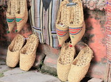 Hempen shoes and vest. Kathmandu-Nepal.