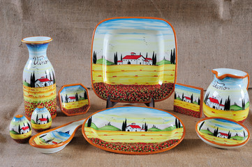 Tuscan Potteries