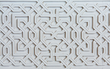 Moorish facade ornament