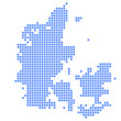 デンマーク 地図 円