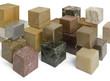 various cubes