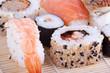 close up sushi