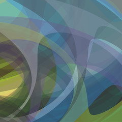 Abstract fantasy shapes background. Vector, EPS10