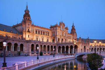 Plaza de Espana Pavilion in Seville
