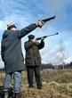 Shooting men