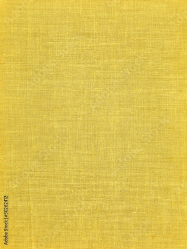 Endless yellow fabric