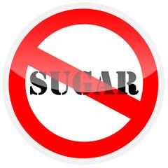 Sign - no sugar