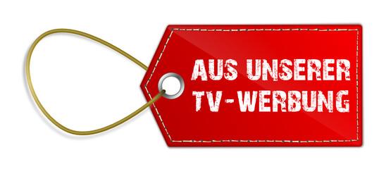 Anhänger aus TV Werbung