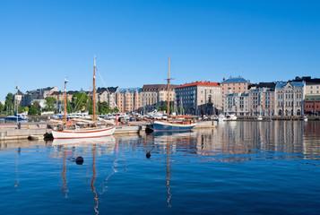 View of Helsinki city, Finland