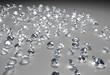 many diamonds on the floor