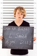 teen boy get arrested for drunk driving and taking mug shot