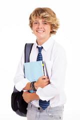 teen high school student portrait