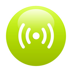 bouton internet radio green