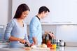 healthy food cook
