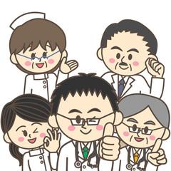 楽しい職場(病院)のイメージ