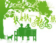 grüner Stadtpark