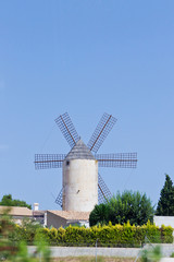 Windmühle in Spanien