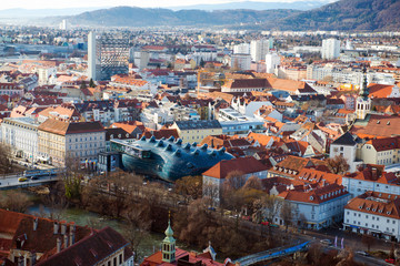 Panorama of Graz